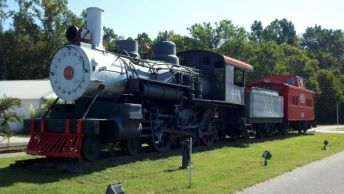 Steam Locomotive 444