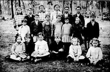 an old school class